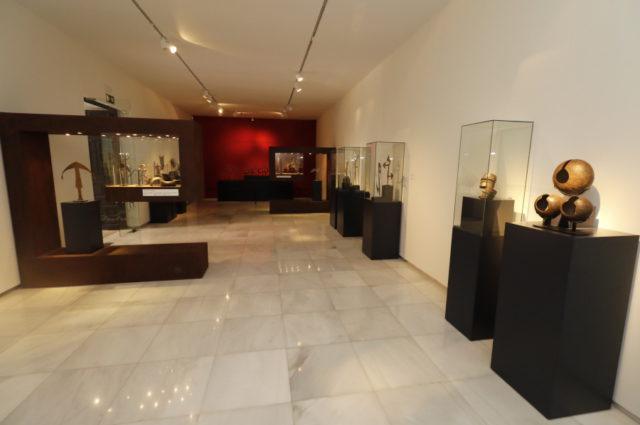 Exposición arte del África subsahariana.