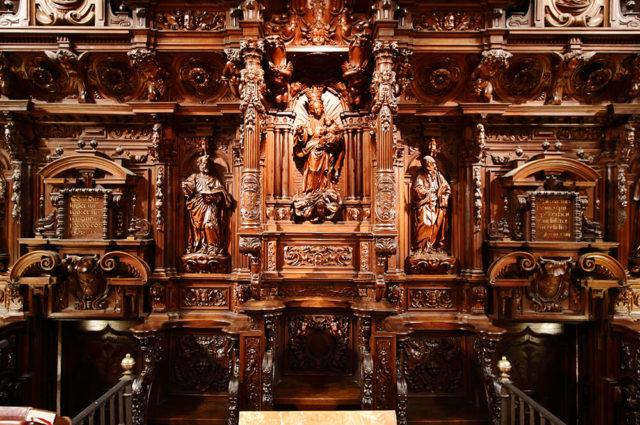 coro- catedral de malaga