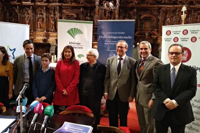 Presentación del Concierto de Navidad de la Catedral de Málaga