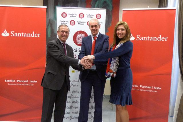 Acuerdo entre Fundacion Malaga y Banco Santander
