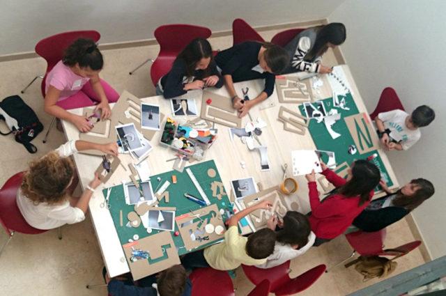 Taller semana blanca en Museo Picasso