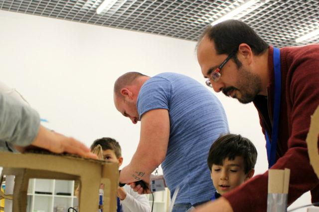 Actividades infantiles en el Centre Pompidou Málaga