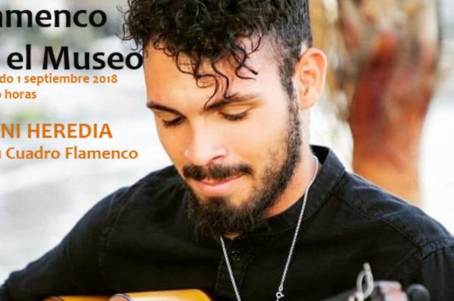 Dani Heredia y su cuadro flamenco