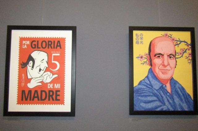 Exposición Chiquito de la Calzada en el Ateneo de Málaga