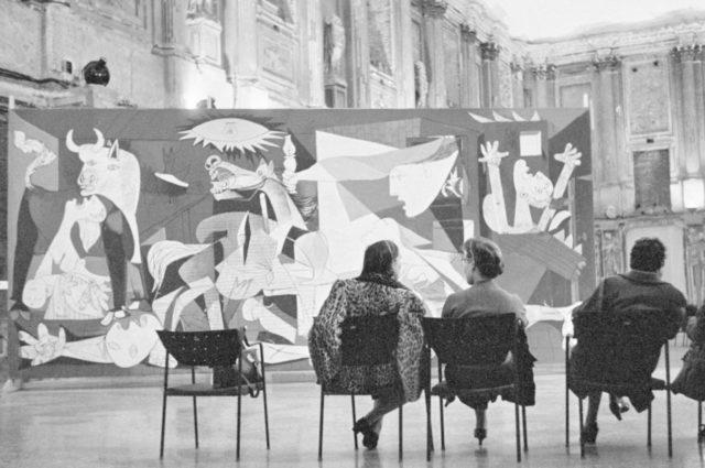 Picasso, el viaje del Guernica
