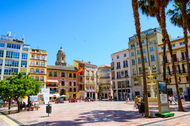 Plaza de la Constitución, Málaga