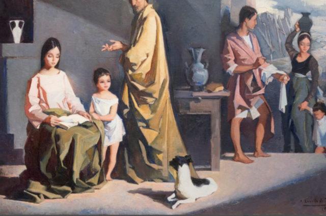 Pintura Religiosa. Revello de Toro