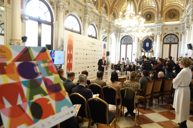 Presentación contenidos Festival de Málaga