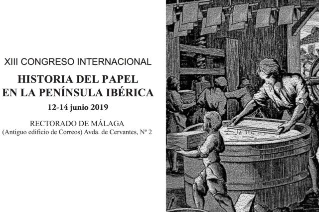 FORMACIÓN. 'XIII Congreso Historia del Papel en la Península Ibérica' en el Rectorado de la UMA