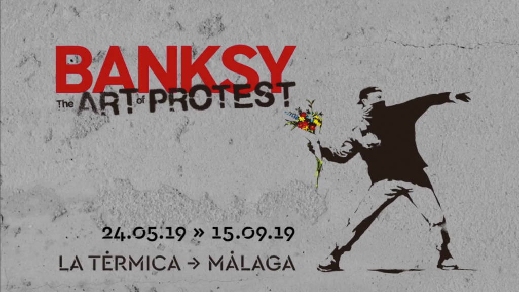 EXPOSICIONES. 'BANKSY. The Art of Protest' en La Térmica