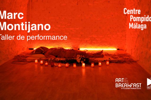 ARTE. Taller de performance en el Centre Pompidou