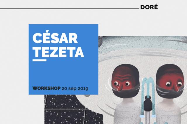 César Tezeta en Donde Doré